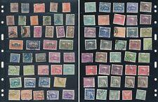 80 Very Early Stamps from Argentina, Deutsch Reich, Cesko-Slovenska (1)