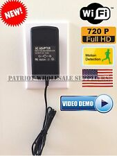 AC Power Adapter Hidden Mini Camera Camcorder DVR 720 Spy Motion Detection