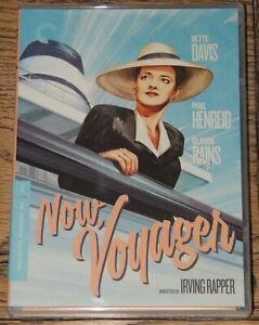 NOW, VOYAGER 1942 2019 CRITERION 4K RESTORATION USA R1 DVD SENT FROM UK