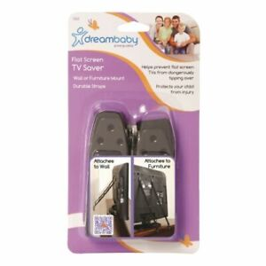 Dreambaby Flat Screen TV Saver Anti-Tipping Straps (2 pack) FREE SHIPPING