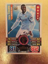 Match Attax Season 15/16 #155 Yaya Toure- Man City FC