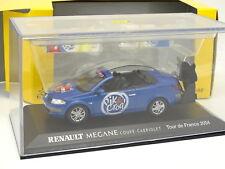 Norev 1/43 - Renault Megane CC Pik et Croq Tour de France 2004