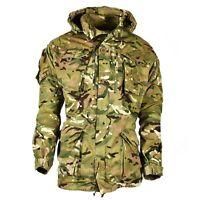 Genuine British army military combat MTP field jacket parka smock windproof hood