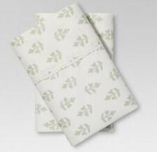 Threshold Organic king pillowcases 100% cotton forgotten sage