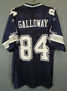 MEN'S REEBOK DALLAS COWBOYS JOEY GALLOWAY #84 NFL FOOTBALL SHIRT JERSEY SIZE S