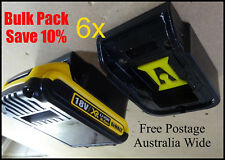 6x DeWalt 18v Battery Holder / Storage Mount / BULK PACK - SAVE 10%