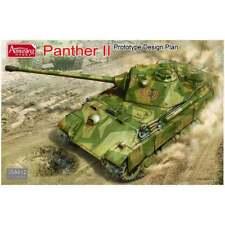 Amusing Hobby 35A012 1:35 Panther II Prototype Design Plan Military Model Kit