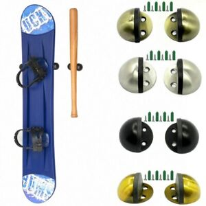 Display Storage Rack Wall Mount Hanger Holder for Skateboard Longboard Snowboard