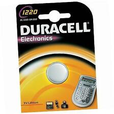 Four 4 X Duracell CR1220 Lithium Coin Cell Battery 3v BLISTER Packed