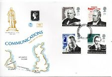 1995 Sg 1887/90 Pioneers of Communication Stuart First Day Cover Unaddressed