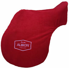Genuine Albion Saddle Fleece Saddle Protector Cover Has Embroidered Albion Logos