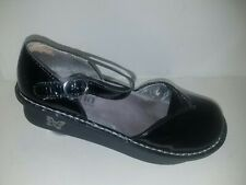 Alegria MAD-101 Black Patent Leather Mary Janes Size Womens Size 37 7 to 7.5 US