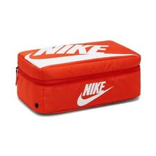 RARE Nike Shoe Box Bag Shoebox Travel Orange Zip Fits Jordan Air Max Dunk 9 10 M