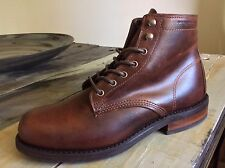 """New $250 Size 7 Wolverine Kilometer 6"""" Brown Leather Boot"""