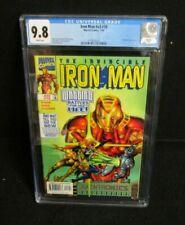 THE INVINCIBLE IRON MAN #18 MARVEL COMICS CGC GRADED 9.8 WARBIRD ERIC CANNON ART