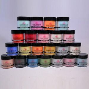 Glam and Glits Nail Design ACRYLIC COLORED POWDER Assorted Colors 301 - 347 1oz