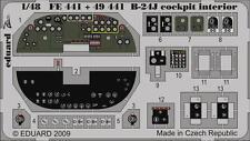 Eduard Zoom fe441 1/48 MONOGRAM REVELL B-24J LIBERATOR