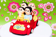 3D Edible CAKE TOPPER/CAKE DECORATION: The Wiggles in the Big Red Car
