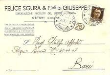 OSTUNI - FELICE SGURA & F.llo di GIUSEPPE   Specialità : Fichi secchi di Puglia
