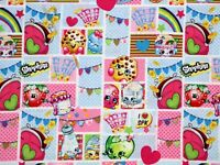 FAT QUARTER SHOPKINS GROCERY COTTON FABRIC PATCH PARTY QUILTING SPRINGS CREATIVE