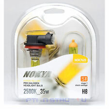 Nokya Hyper Yellow H8 Headlight Fog Light Bulb 2500K Stage 1