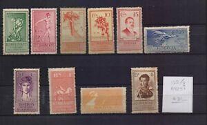 ! Bolivia 1925.  Stamp. YT#132/139. €31.00!
