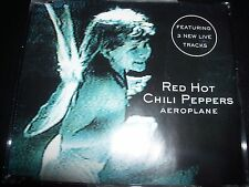 Red Hot Chili Peppers Aeroplane Australian CD Single with Live Tracks