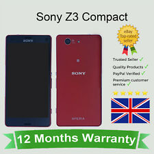 "Unlocked Sony Xperia Z3 Compact D5803 Google Android Smartphone 16GB Red 4.6"" UK"