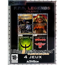 F.P.S. FPS LEGENDS Volume 1 (4 Jeux) PC Neuf