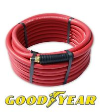 """Red Goodyear Air Hose 3/8"""" x 30' w/ Ice Flex Anti Kink Ends 250 Psi"""