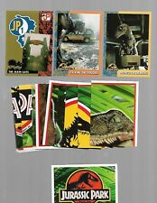 1993 Topps Jurassic Park Movie Almost Complete Card Set 98/99  IN NM/M COND.