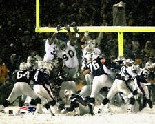 New England Patriots SNOW BOWL 2002 Adam Vinatieri's Kick Premium POSTER Print