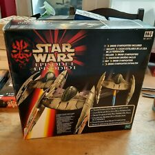 More details for star wars episode 1 droid starfighter (3 fighters included) new & vader light
