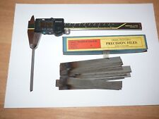 ENGINEERS PRECISION / BAR FILES - 0.320 - 0.340  INCH - JAMES BLUNDELL AND SON