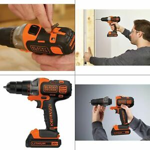 BLACK+DECKER MATRIX 20V MAX Lithium Drill/Driver - BDCDMT120C
