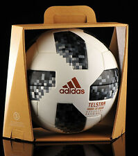 Adidas FIFA WORLD CUP RUSSIA 2018 OFFICIAL GAME BALL Soccer CE8083 + OMB BOX