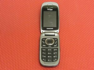 Samsung Convoy 2 SCH-U660 117MB Black/Gray Verizon Wireless Flip Cell Phone
