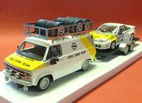 Slotcar OPEL Blitz + Anhänger + Manta in 1:32 auch für Carrera Evolution  AVRS