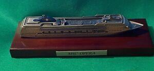 MSC OPERA - CRUISE SHIP MODEL - ON PLINTH - VGC