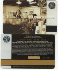 STARBUCKS BARISTA 25th anniversary PIKE PLACE ORIGINAL BROWN LOGO GIFT CARD