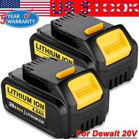 DCB204-2 For DEWALT DCB205-2 20-Volt Max XR 4.0Ah Li-ion Battery 2-Pack DCB200-2