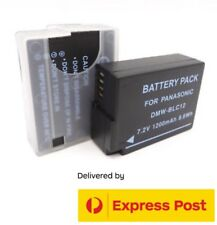 DMW-BLC12 Battery for Panasonic Lumix DMC-G7K G7KK G7KS G80 G85 G85K G85MK GH2HK
