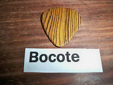 "Wood guitar pick ""Bocote ""  by RobinsonWood Picks"