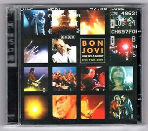 CD ★ BON JOVI - ONE WILD NIGHT LIVE 1985-2001 ★ ALBUM 15 TITRES