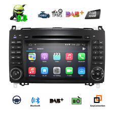 "7""Android 9.0 Car Stereo CD GPS Mercedes BENZ A/B Class W245 Sprinter Vito Viano"