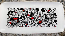 New listing New Disney Mickey Mouse and Minnie Mouse All Over Tray Faces Rectangular Platter