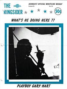 The Ringsider 1975 #23  Playboy Gary Hart, Dick Slater, Jack Brisco, Abdullah!