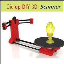 Ciclop Scanner Open Source DIY 3D Object Scaning Kit for Reprap Printer Scan