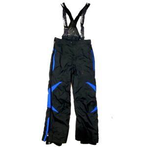 SPYDER Youth Thinsulate Bib Waterproof Overalls Black Snowboard Ski Pants Sz: XL