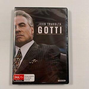 Gotti SEALED (DVD, 2018) John Travolta Kelly Preston Region 4